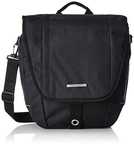 Unbekannt New Looxs Gepäckträgertasche Schultertasche Avero Single, Black, 32 x 33 x 13 cm, 12.5 L, FA003480077
