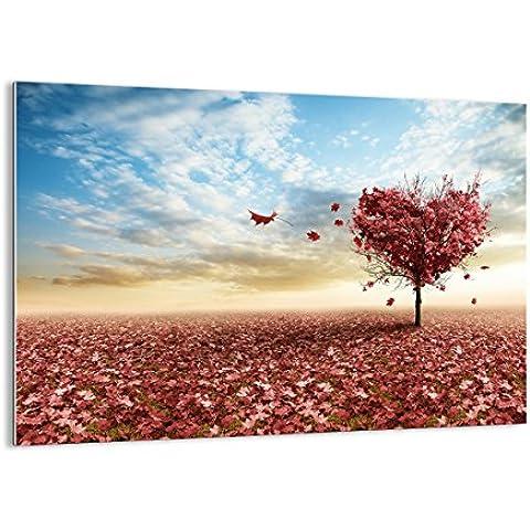Quadro su vetro - elemento unico - larghezza: 70cm, altezza: 50cm - numero dell'immagine 2609 - pronto da appendere - Arte digitale - Moderno - Quadro in vetro - GAA70x50-2609