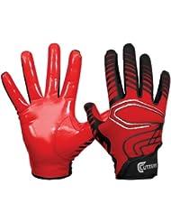 Cutters - Gant de football américain Cutters S250 Rev rouge