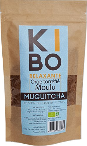 KIBO Orge torréfié moulu 100g
