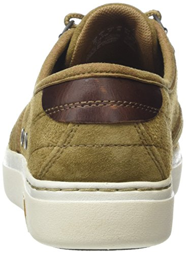 Timberland Amherst Suede Ox, Scarpe Low-Top Donna Marrone