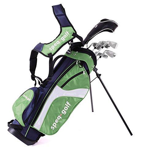 Speq Demi-série de golf pour enfant avec sac Bleu Vert...