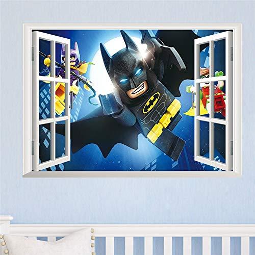 Adhesivo decorativo pared diseño Batman, habitación