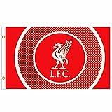 L.F.C GIANT Offizielles Liverpool FC Fußball Crest flagge (150x 3ft)
