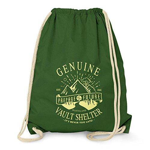 TEXLAB - Genuine Vault Shelter - Turnbeutel, dunkelgrün