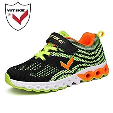 VITIKE Child Running Shoes Outdoor Casual Air Cushion