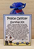 Police Officer Survival Kit - Unique Fun Novelty Gift & Card All In One