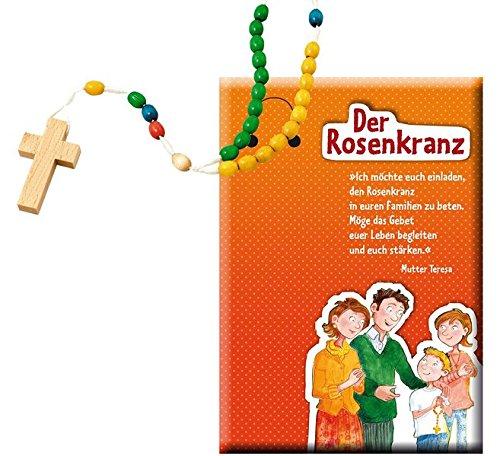 Kinder-Rosenkranz aus Holzperlen