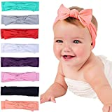 #10: Skudgear Pack of 8 New Born Baby Girl's Hairbands