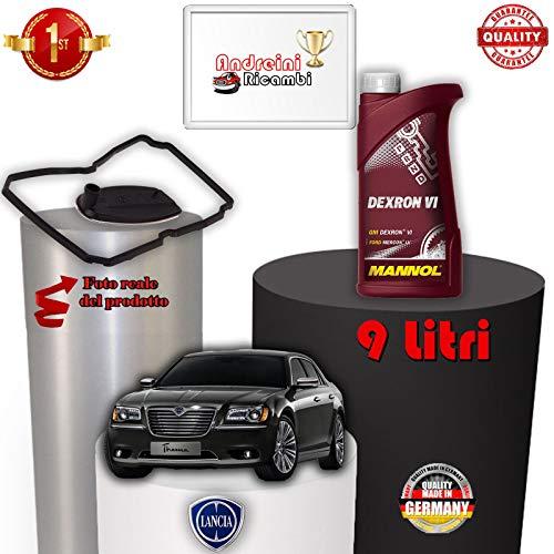 KIT FILTRO CAMBIO AUTOMATICO E OLIO THEMA 3.0 V6 CRD 176KW 2011 -> /1015