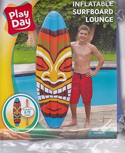 Play Inflatable Surf Board Lounge - Tiki