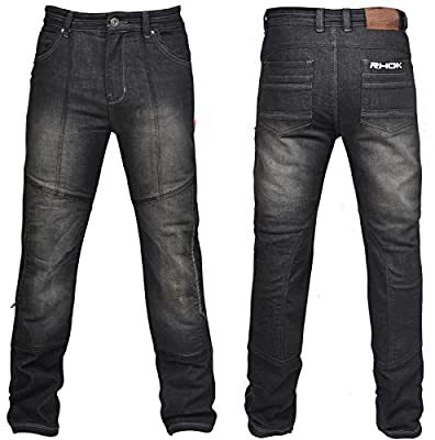 RHOK Gen3 Liner Motorcycle Jeans with Armours - BLACK