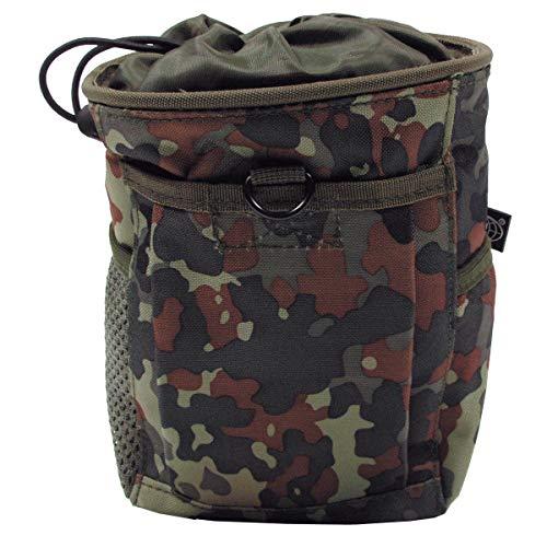 BKL1® Patronenhülsen Tasche MOLLE Abwurftasche Flecktarn Munitionsbehälter 1896