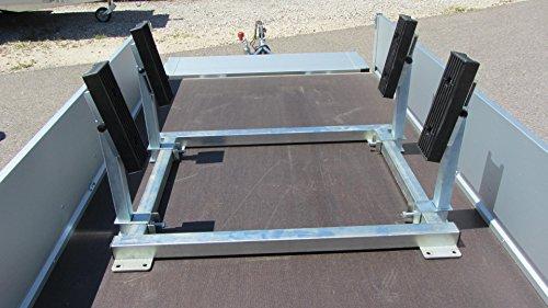 anhaengerteile24 Transportgestell für kleinere Boote