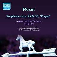 Mozart: Symphonies Nos. 25 & 38