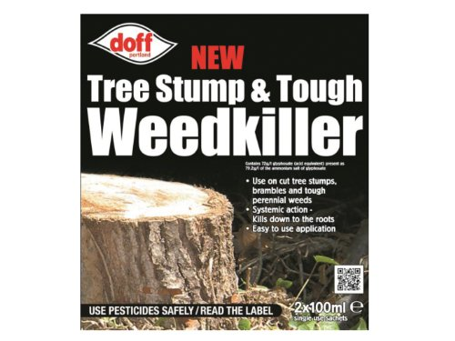 doff-100ml-tree-stump-and-tough-weedkiller-pack-of-2-sachets