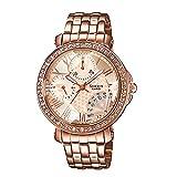 Casio Sheen Analog Pink Dial Women's Watch - SHN-3011PG-9ADR (SX143)