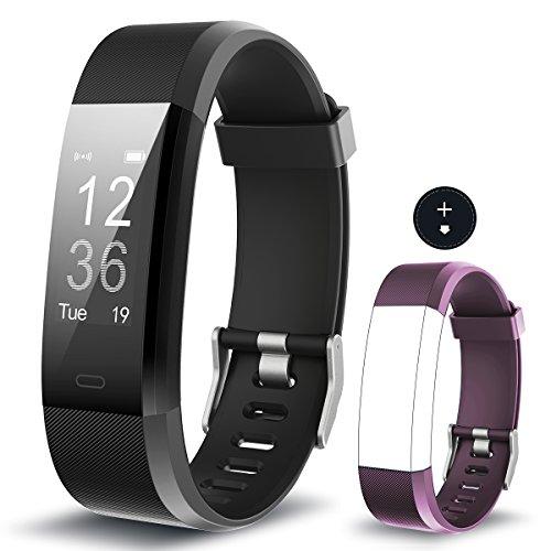 Fitness Armband Muzili YG3 Plus Fitness Tracker Sport Uhr Aktivitätstracker Schrittzähler mit Herzfrequenz Monitor / GPS/ Kalorien Zähler / Schlafmonitor für Andriod und - Zähler-monitor Kalorien