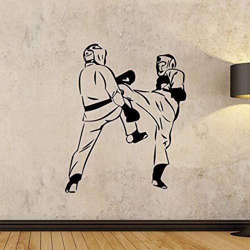 fancjj Creative Fight Design Adesivi murali per Ragazzi Camera da Letto Decorativo Rimovibile Impermeabile Vinile Stickers murali Autoadesivo Home Decor 43x52 cm
