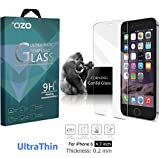 iPhone 6s / 6 Screen Protector Glass, TOZO 0.2mm Ultrathin [3D Touch Compatible] Corning Gorilla Premium Tempered Glass with 9H Hardness 2.5D Edge Sup