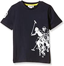 US Polo Association Dbl Horse Ss, Camiseta para Niñas