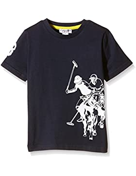 US Polo Association Jungen T-Shirt Dbl Horse Ss