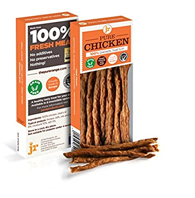 Pure Dried 100% Fresh Meat Dog Treat Gluten Free 50g - CHICKEN