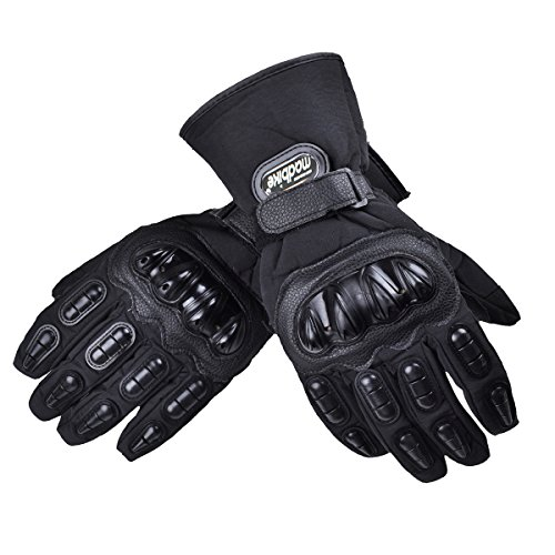 MADBIKE Guantes moto impermeable Moto Guantes invierno