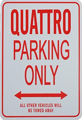 QUATTRO Parkplatz nur Zeichen
