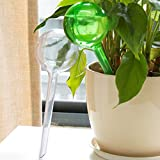 cooljun automático creativo dispositivo de riego maceta para planta de interior bombilla Globo jardín casa Waterer, transparente