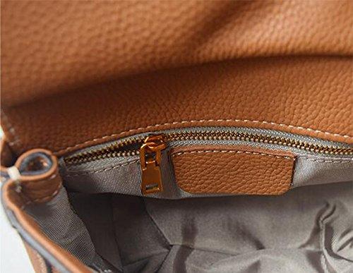 Tasca mini obliqua zaino Versione coreana del piccolo pacchetto di borse retrò borsa borsa borsa borsa pacchetto di svago ( Colore : Taro colori ) Nero