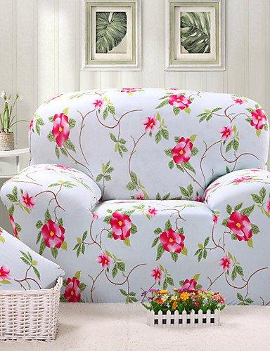Stoff Sofa, Sofa Loveseat Sessel (SFT/Tight All Inclusive Sofa Duschtuch Gedruckt Bettüberwurf Vier Jahreszeiten rutschfestem Stoff Elastischer Sofa-Bezug loveseat-pink)
