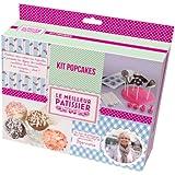 Le Meilleur Pâtissier 95737 MP Kit Pop Cakes Silicone/Papier