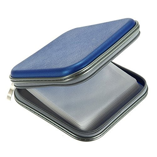 Schutzhülle Tasche für 44CD DVD Player Aufbewahrungsbox, Kunststoff
