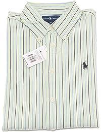 Ralph Lauren 7260S Camicia Righe Bimbo Manica Lunga Stripes Shirt Kid