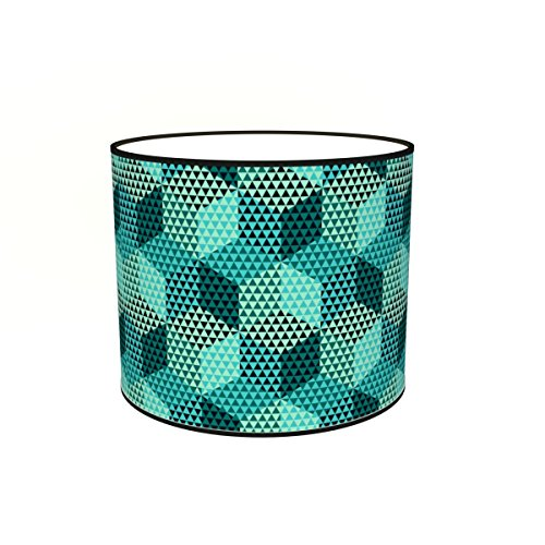Abat-jours 7111304050226 Imprimé Théma Lampadaire, Tissus/PVC, Multicolore