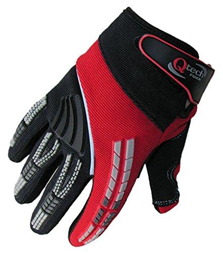 Qtech - Kinder Motocross-Handschuhe - Rot - XXXS (ca. 3-5 Jahre