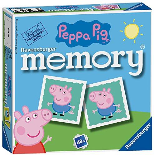 Ravensburger Peppa Pig - Mini Juego de Memoria