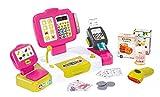 Smoby 350108 - Eletkronsiche Supermarktkasse XL, rosa