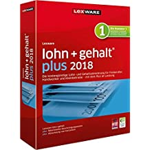 Lexware lohn+gehalt (2018) plus-Version Minibox Software