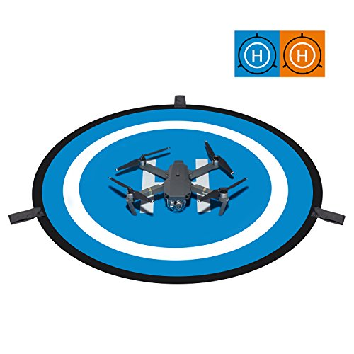 "Deyard 30 ""(75cm) RC Drone und Quadcopter Deplaning Pad Wasserdichte tragbare Hubschrauber Let fly Pad für DJI Mavic Pro, DJI Madam ', DJI On the commencement back from impersonation 4/4 Pro und mehr"