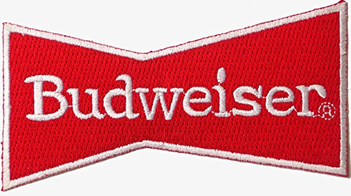 budweiser-rouge-brode-badge-patch-coudre-ou-thermocollant-105-cm-x-55-cm