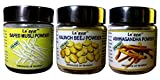 Le'Ayur Combo Safed Musli, Ashwagandha, Kaunch Beej Powder, 100-100 Gms