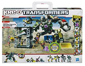 Kre-O - 369511480 - Jeu de construction - Transformers - Destruction Site Devastator
