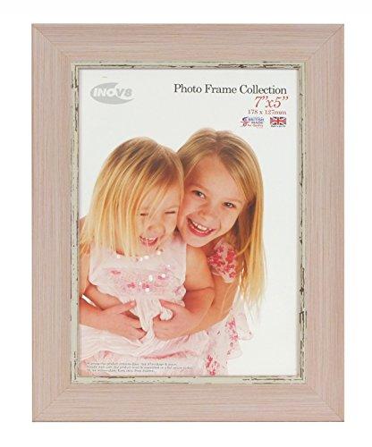 Inov8 PFES-SWPK-75 Traditionell Briten Foto und Bilderrahmen, 13 x 18 cm, klein wasch rosa