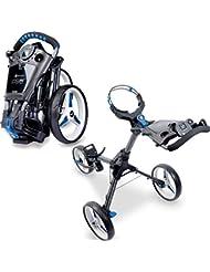 Motocaddy Golf Push Trolley Cube 3 mit intregierten GPS Graphit/Blau