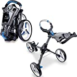 Motocaddy Golf Push Trolley Cube 3 mit intregierten GPS Graphit/Blau