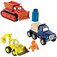 Bob the Builder Construction Vehicles Playset | Set of 3 | Die Cast Vehicles