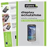 dipos I 2X Schutzfolie matt passend für Samsung Galaxy S5 Active Folie Displayschutzfolie