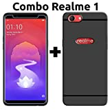 #8: Oppo Realme 1 Cover & Tempered Glass (Combo Pack) by Popio®